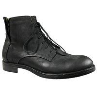 Trzewiki NIK 0133 czarny Rozmiar obuwia - 42, Kolor - Czarny