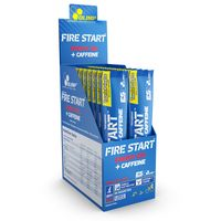 Olimp, Fire Start Energy Gel + BCAA , pomarańcza,1 sztuka, 36g - Długi termin ważności!