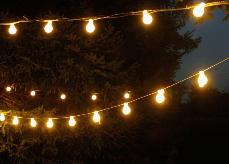 Lampki Dekoracyjne Led Zewnętrzne Kształ Kulek Sznur O Dł 10 M 20 Led Kulek Oświetlenie Ogrodowe Nr 238 Wybierz Kolor światła Zimny