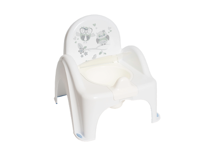 TEGA PO-064-103 Nocnik krzesełko SOWA z pozytywką biały