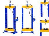 Prasa hydrauliczna - 30 t - 666 bar MSW MSW-WP-30T
