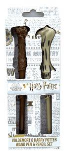 Zestaw Harry Potter: długopis Harry Potter i ołówek Voldemort