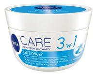 Nivea Care 3W1 Odżywczy Lekki Krem Do Twarzy 100Ml