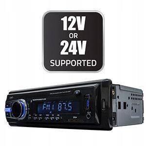 Radio samochodowe 24V do SCANIA VOLVO MAN DAF