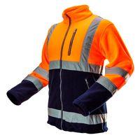 Bluza polarowa ostrzegawcza pomarańczowa ciepła r. XL