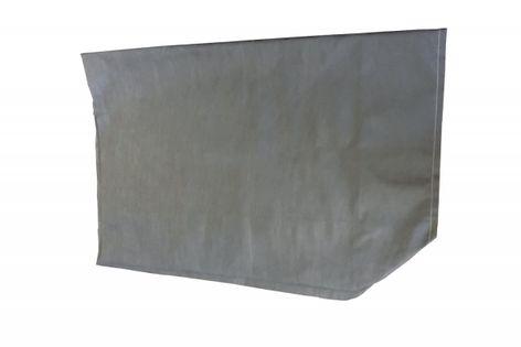 Pokrowiec na łóżko składane LUXOR 200 x 90 cm - CIEMNY