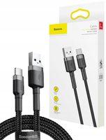 BASEUS SZYBKI KABEL TYPE-C USB-C QC3.0 3A 1M
