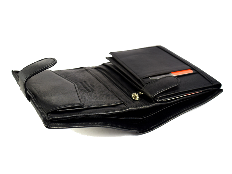 Portfel męski Pierre Cardin 326A tilak 15 skórzany z ochroną RFID zdjęcie 6