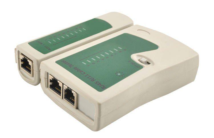 Zestaw narzędzi sieciowych LAN RJ45 Tester Zaciskarka Wciskacz D139 na Arena.pl