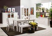 Białe romantyczne krzesło Monaco zdjęcie 4
