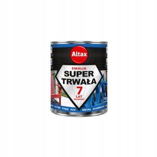 ALTAX Emalia Super Trwała 0,75l kolor POPIELaty