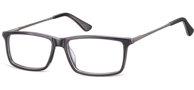 Korekcyjne oprawki okularowe damskie męskie brąz zdjęcie 5