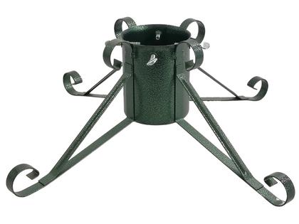 TUCHMET Stojak pod choinkę stały 4-nożny  DALIA fi 130  z pojemnikiem na wodę - zieleń antyczna