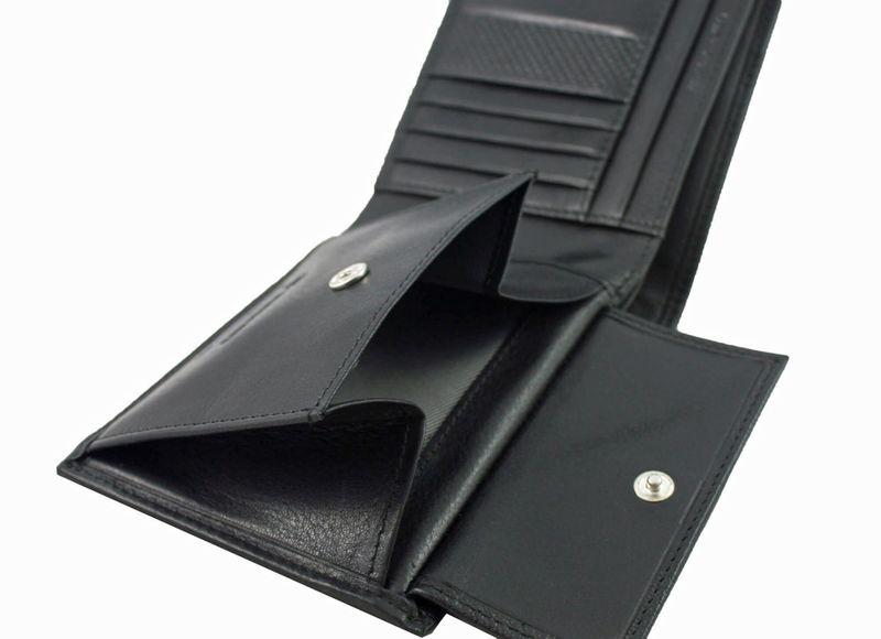 e274d2dc0fa6a Męski skórzany poziomy portfel Valentini