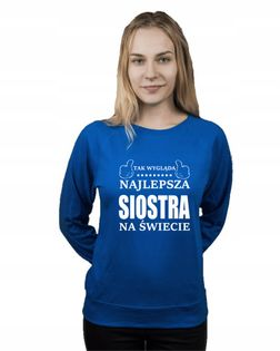 Bluza damska NAJLEPSZA SIOSTRA r S