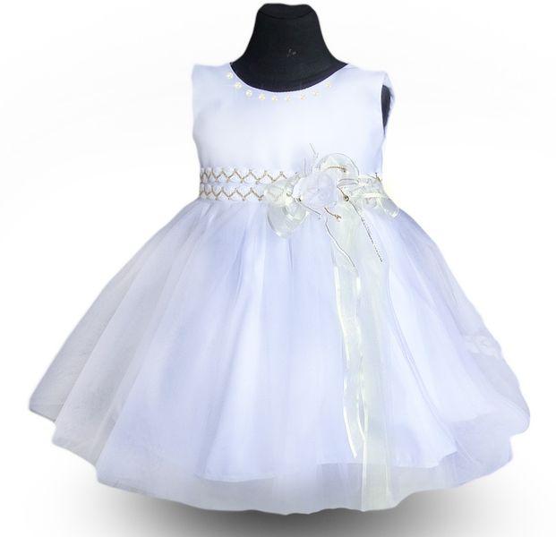 80f943225f PL Laura Sukienka dla dziewczynki tiul szyfon perły sesja 134 140 zdjęcie 4