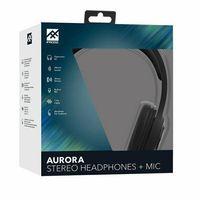 Słuchawki nauszne iFrogz Audio Aurora Wired czarny/black 31187