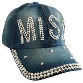 Czapka Jeansowa Miss 52