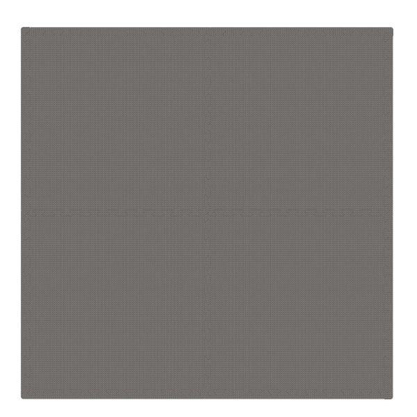 PUZZLE PIANKOWE MATA 4szt 62x62x1,1 cm Szary zdjęcie 4