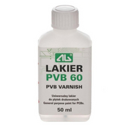 Lakier izolacyjny PVB 60 do płytek drukowanych