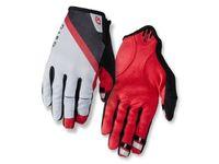 Rękawiczki męskie GIRO DND długi palec grey dark red black roz. S (obwód dłoni 178-203 mm / dł. dłoni 175-180 mm) (DWZ)