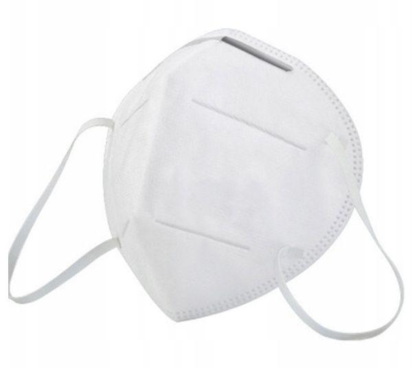 Maska ochronna filtrująca DNW FFP2 NR D N95 KN95 zdjęcie 1