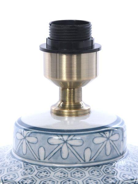 Lampa stołowa z abażurem Anabel 18x18x51cm zdjęcie 6