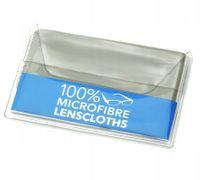 Ściereczka do okularów z mikrofibry w etui