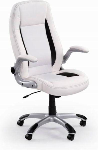 Fotel Biurowy Obrotowy Do Biurka Biały Saturn