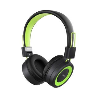 Bluetooth headphone RB-725HB support TF card green