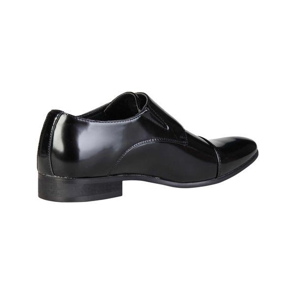 054bee4d63fbe ... Duca di Morrone pantofle półbuty męskie czarny 41 zdjęcie 6