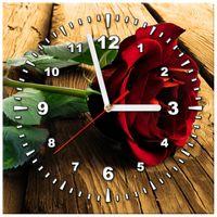 ZEGAR  Róża dla ukochanej 30x30