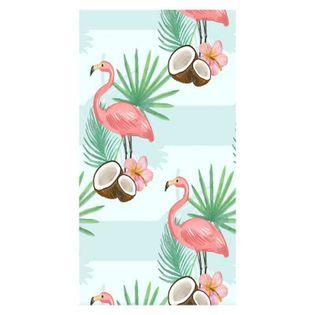 Ręcznik plażowy prostokątny mały 150x70 Flamingi i Kokos REC45WZ5