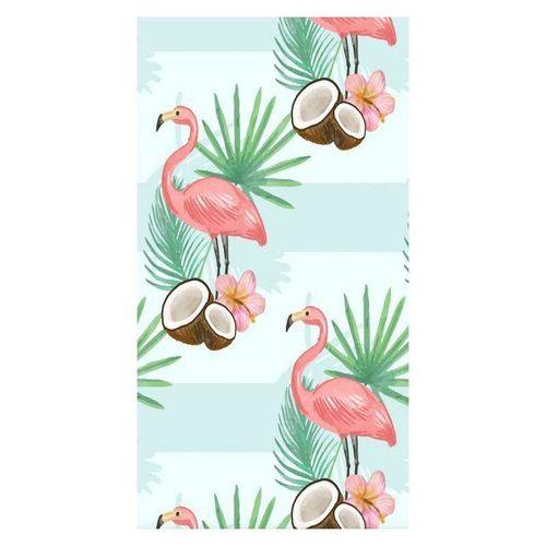 Ręcznik plażowy prostokątny mały 150x70 Flamingi i Kokos REC45WZ5 na Arena.pl