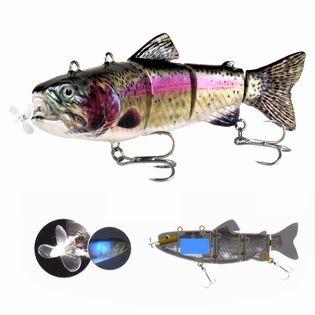 Elektryczny żywiec - rybka - przynęta wędkarska - model Slim 8-04