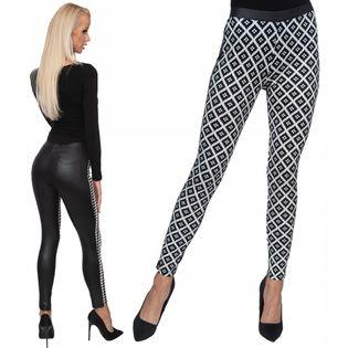 Sexy spodnie obcisłe bryczesy legginsy