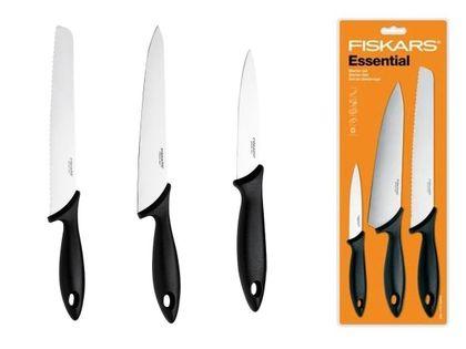 Zestaw 3 noży kuchennych Essential FISKARS