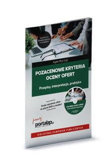 Pozacenowe kryteria oceny ofert książka + DVD Agata Hryc-Ląd, Krzyszto Hodt