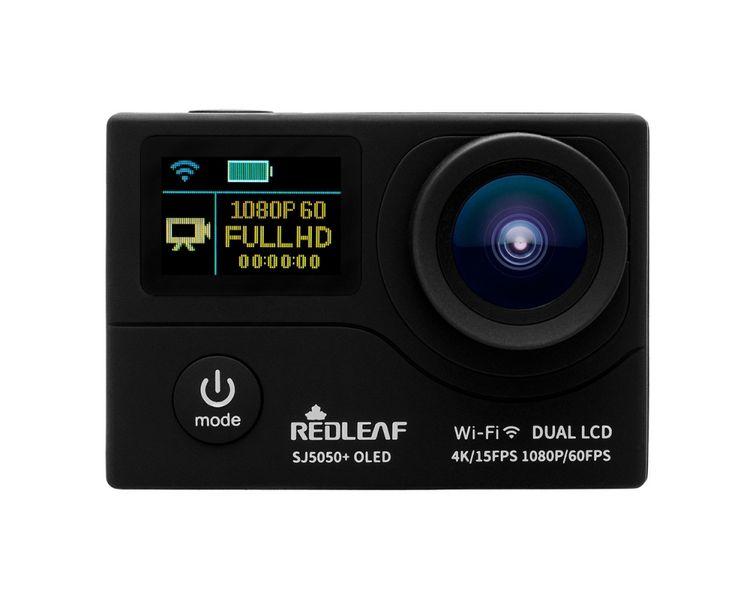 Kamera REDLEAF sportowa SJ5000+ WiFi FullHD 60fps 4K czarna zdjęcie 2