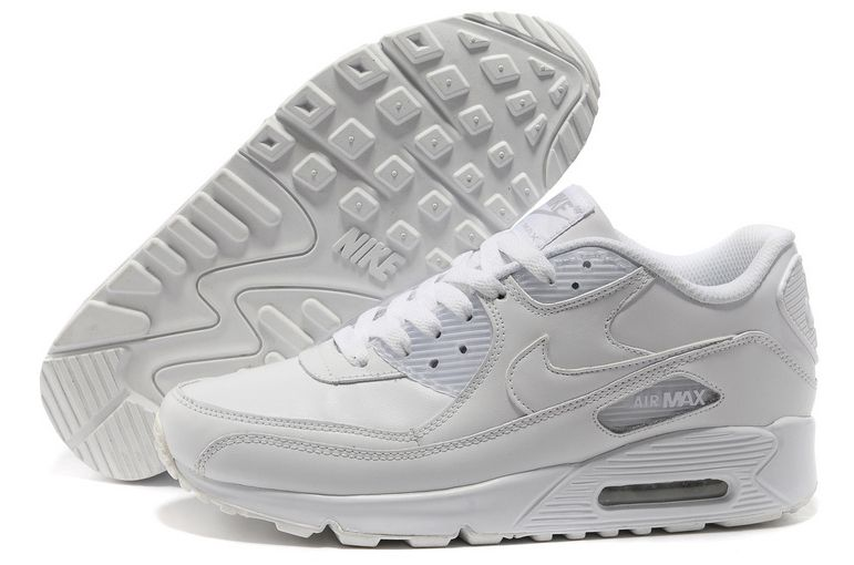 premium selection 5238a c163a BUTY NIKE AIR MAX 90 BIAŁE - DAMSKIE r. 38.5 • Arena.pl