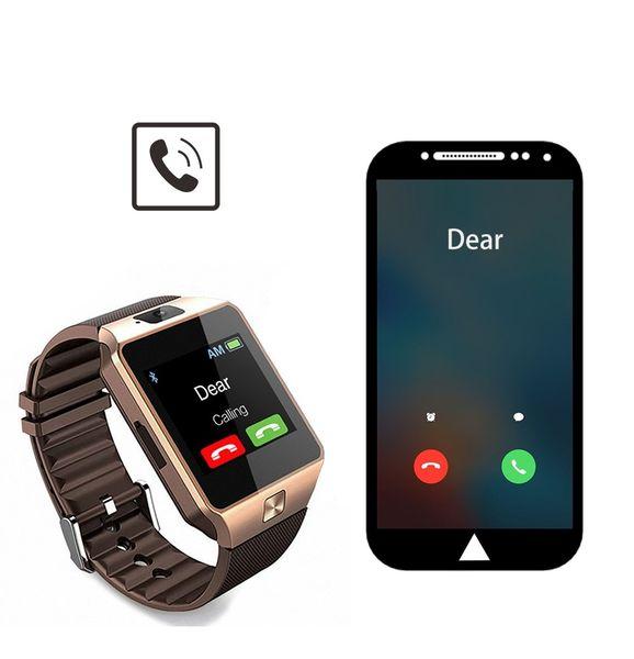 Smartwatch Zegarek DZ09 Menu PL GSM Slot SIM, SD zdjęcie 3