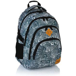 Plecak szkolny młodzieżowy Astra Hash HS-15, w zebry