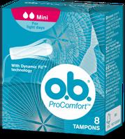 Ob Pro Comfort Tampony  A. 8 Mini