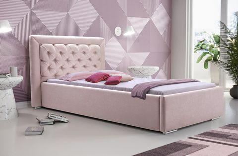 Łóżko tapicerowane MADERA 90x200 !