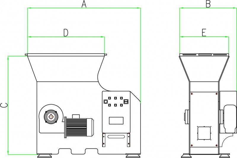 ROZDRABNIACZ RĘBAK MŁYNEK DO DREWNA 15 kW grinder zdjęcie 2
