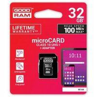 GOODRAM KARTA MICROSD 32GB MICRO CL10 ADAPTER SD