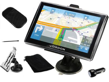 GPS NAWIGACJA 7'' VORDON 4GB DOŻYWOTNIE MAPY PL+EU