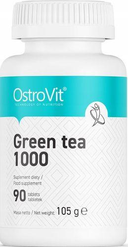 Ostrovit Green Tea 1000 odchudzanie spalacz tłuszczu- 90 tabletek na Arena.pl