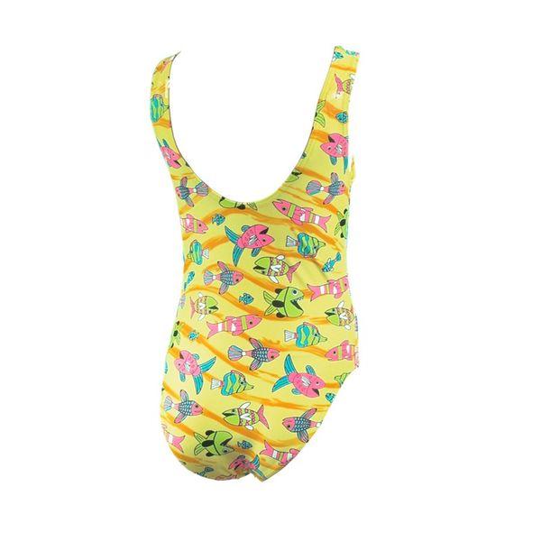 Kostium pływacki ALA Rozmiar - Stroje dziecięce - 122, Kolor - Stroje damskie - Ala - 18 - żółty na Arena.pl