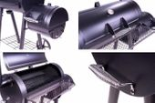 Grill z wędzarnią, grill ogrodowy XL, BBQ, rożen, wędzarnia zdjęcie 2